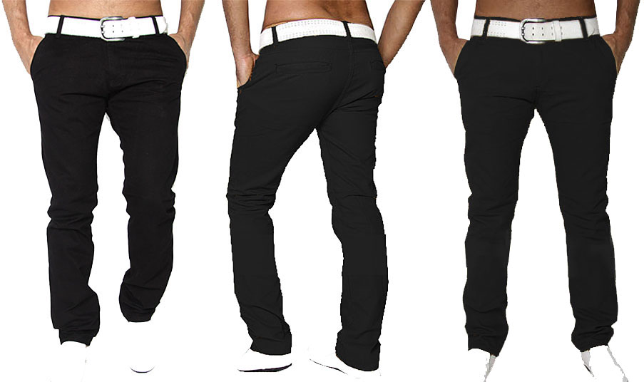 new qualit t slim fit herren chinohose denim trousers. Black Bedroom Furniture Sets. Home Design Ideas