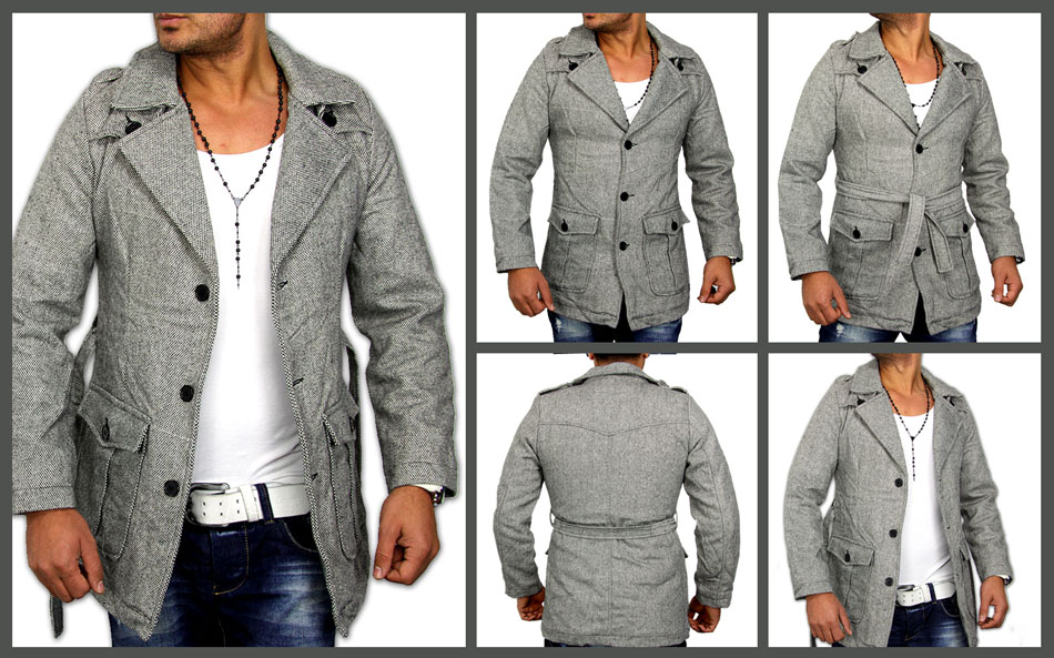 2012 new season slim fit woll herren mantel jacke top. Black Bedroom Furniture Sets. Home Design Ideas
