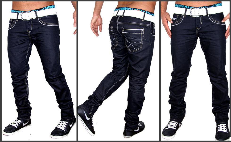 2012 new season designer herren r hrenjeans hose d blau. Black Bedroom Furniture Sets. Home Design Ideas