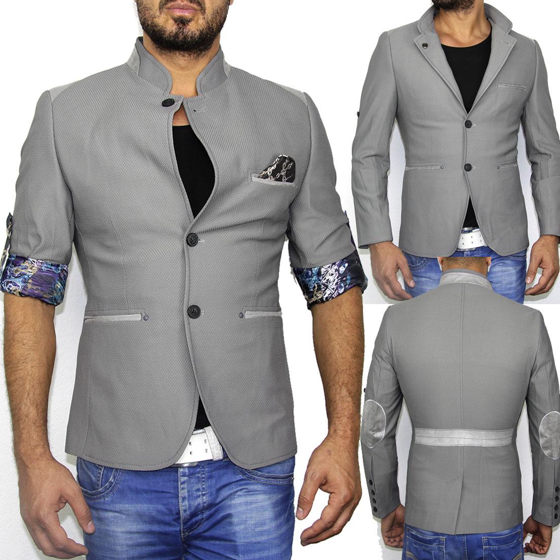 b24 nm new herren slim fit sakko blazer jacke kurzmantel. Black Bedroom Furniture Sets. Home Design Ideas